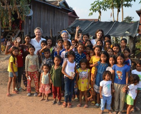 groepsfoto bezoek Rong Vean januari 2016